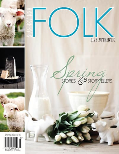 FOLK Magazine spring issue 2013