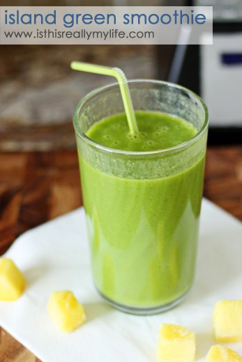 Island green smoothie
