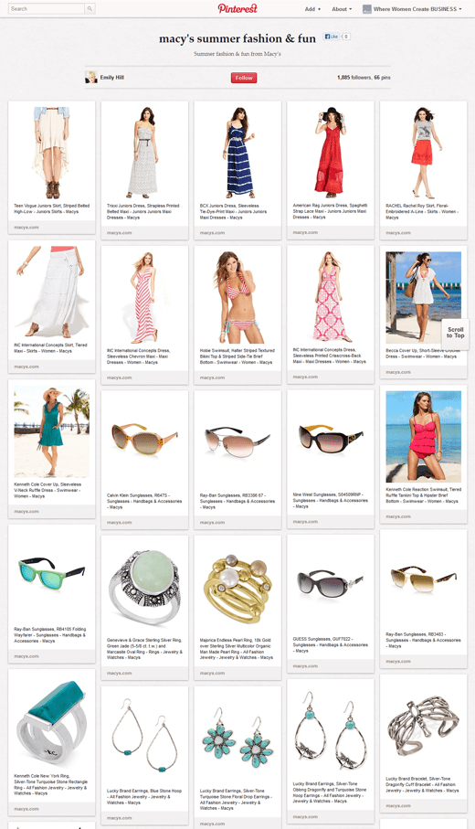 Summer fashion ideas from Macy's