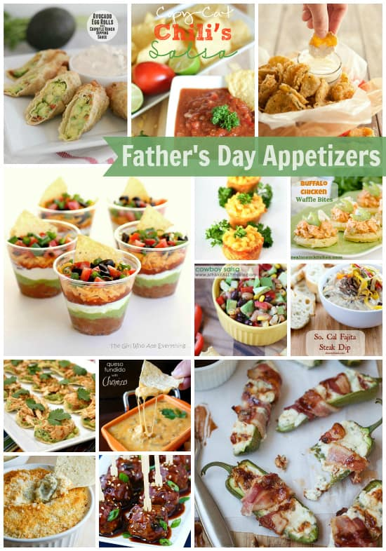 Father's Day appetizers
