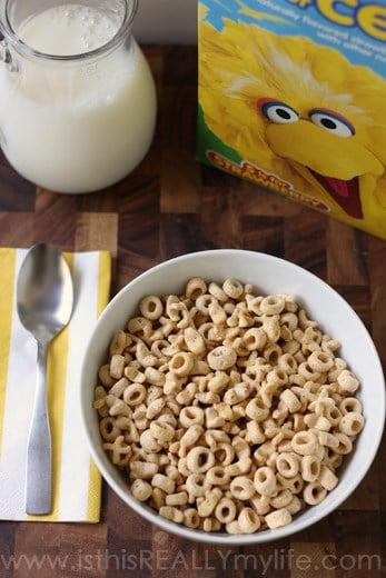 Post Sesame Street Cereal
