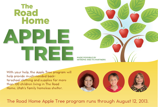 Road Home Apple Tree program