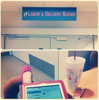 labor and delivery waiting room