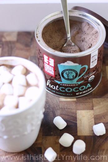 Equal Exchange hot chocolate