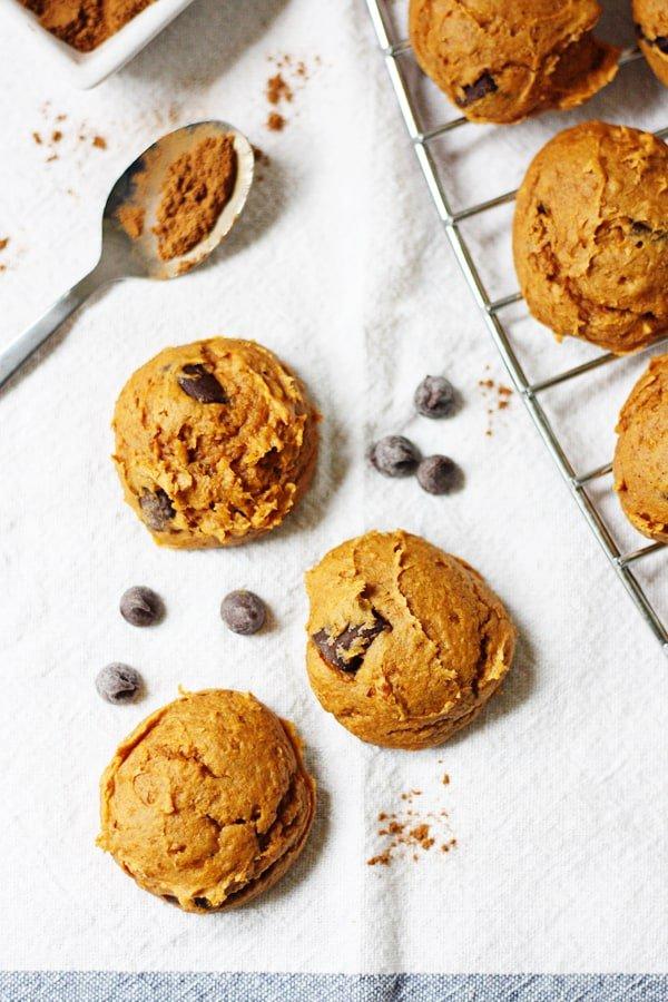 Four-Ingredient Pumpkin Cookies