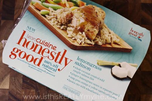 Lean Cuisine Honestly Good Lemongrass Salmon