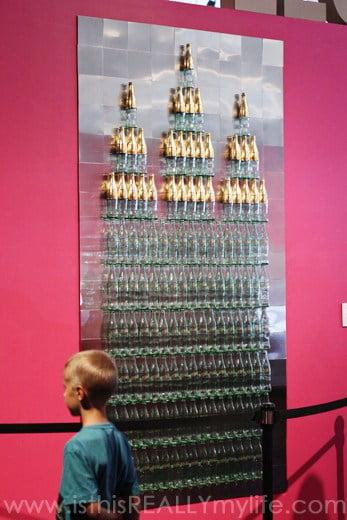The Leonardo Celestial Diet Coke bottles