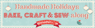 Holiday Bake Craft Sew Along