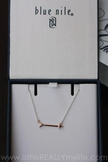 Blue Nile Arrow Necklace