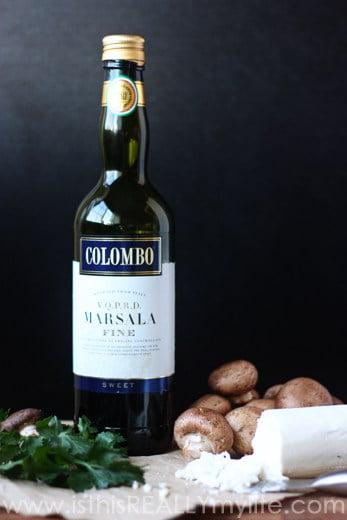 Colombo sweet Marsala wine