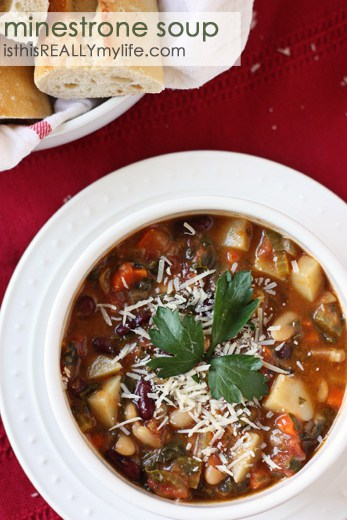 Sniffle-friendly minestrone Soup