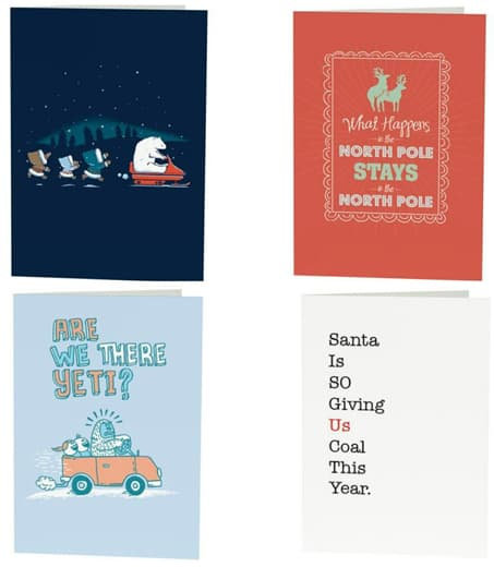 Open Me holiday cards