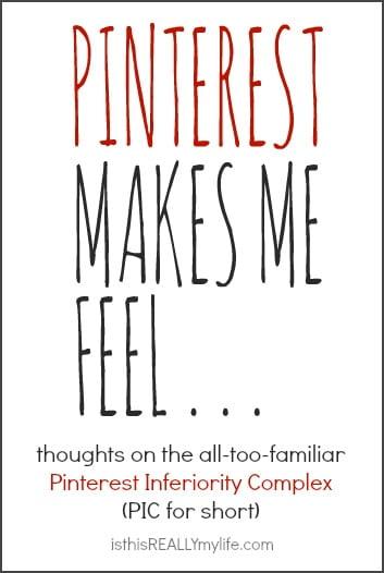 Pinterest makes me feel