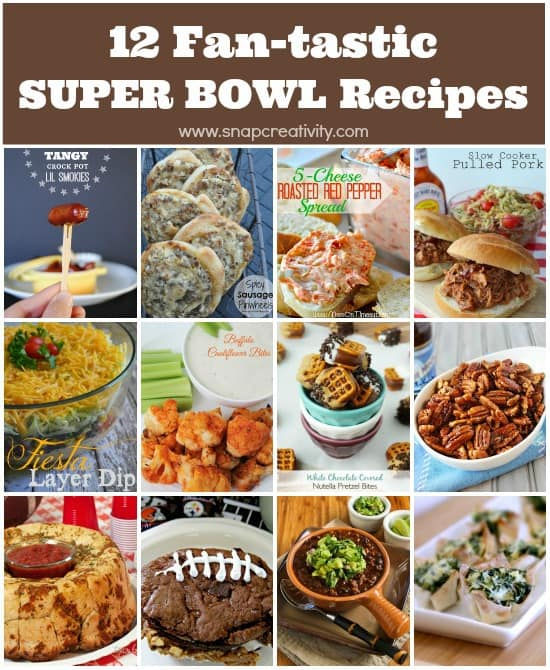 Super Bowl Recipes for your Super Bowl party