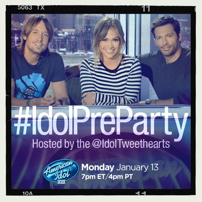 American Idol #IdolPreParty #IdolTweethearts