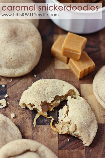 Pinned & prepped: Caramel snickerdoodles