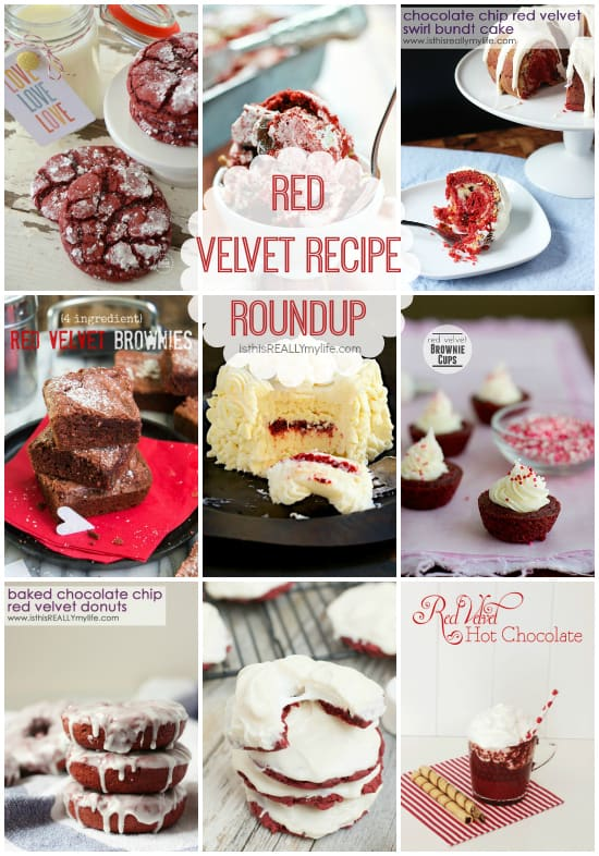 Red Velvet Recipes roundup