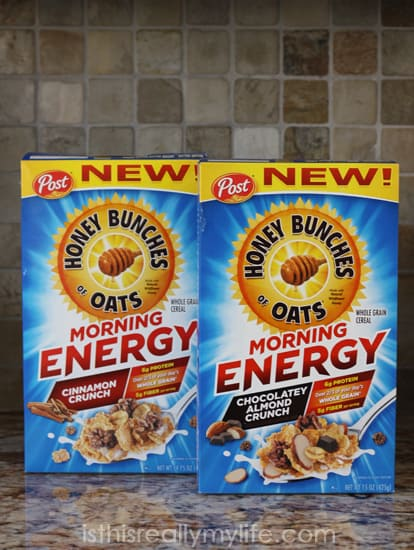 Post Honey Bunches of Oats Morning Energy
