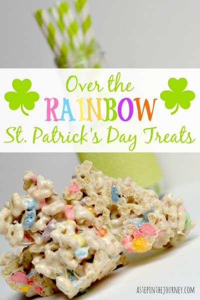 st patricks day recipes lucky charms treats