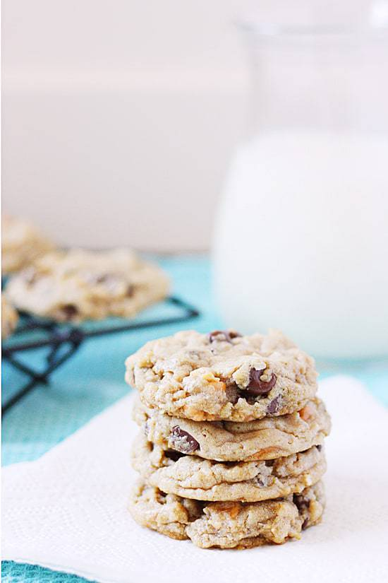 These seven layer bar cookies take your favorite Hello Dolly bars and turn them into a soft, chewy cookie. Yum!