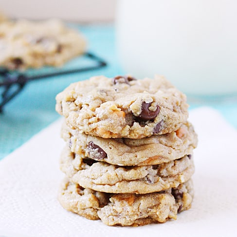 Seven layer bar cookies take your favorite Hello Dolly bars and turn them into a soft, chewy cookie.