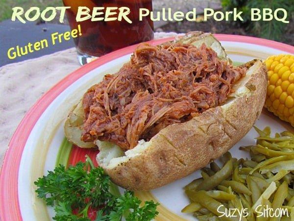 gluten free root beer pulled pork