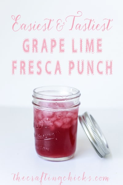 grape lime Fresca punch