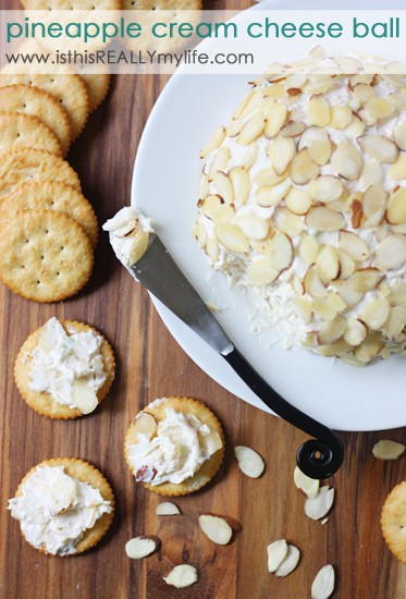 Pineapple Cream Cheese Ball