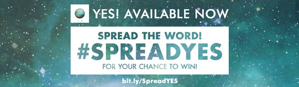 Jason Mraz YES! #SPREADYES
