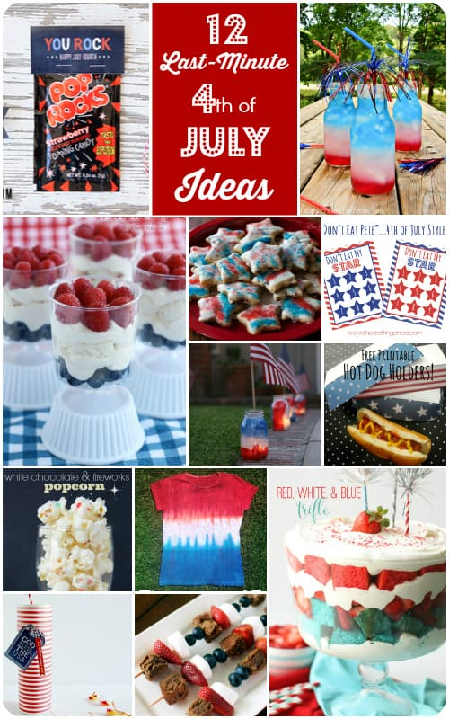 Last minute 4th of July ideas roundup