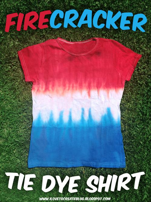 firecracker tie dye shirt