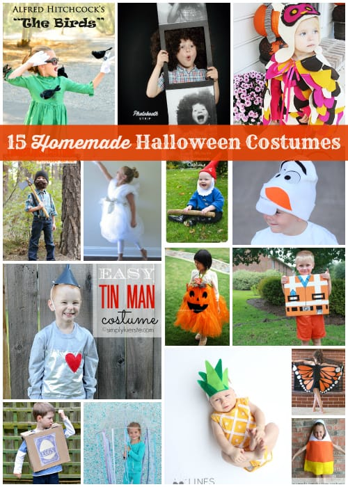 15 Homemade Halloween Costumes