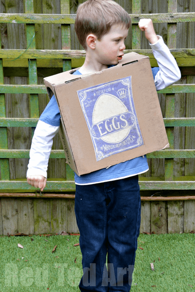 Boxtroll Halloween costume