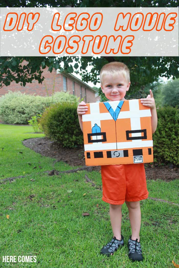 DIY LEGO Movie costume