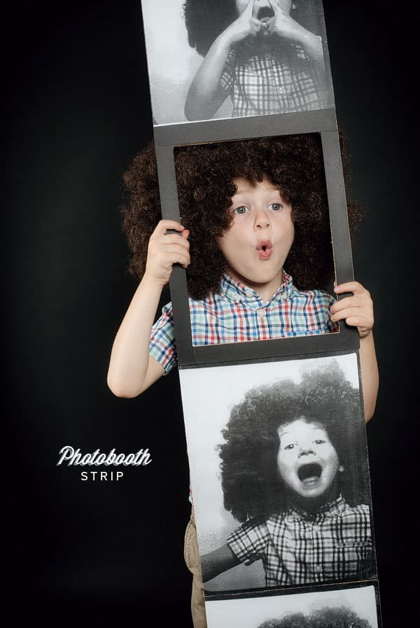 photobooth strip costume