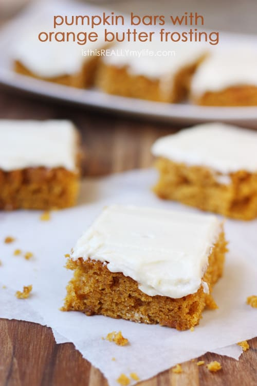 Recipe Pumpkin Butter Cake