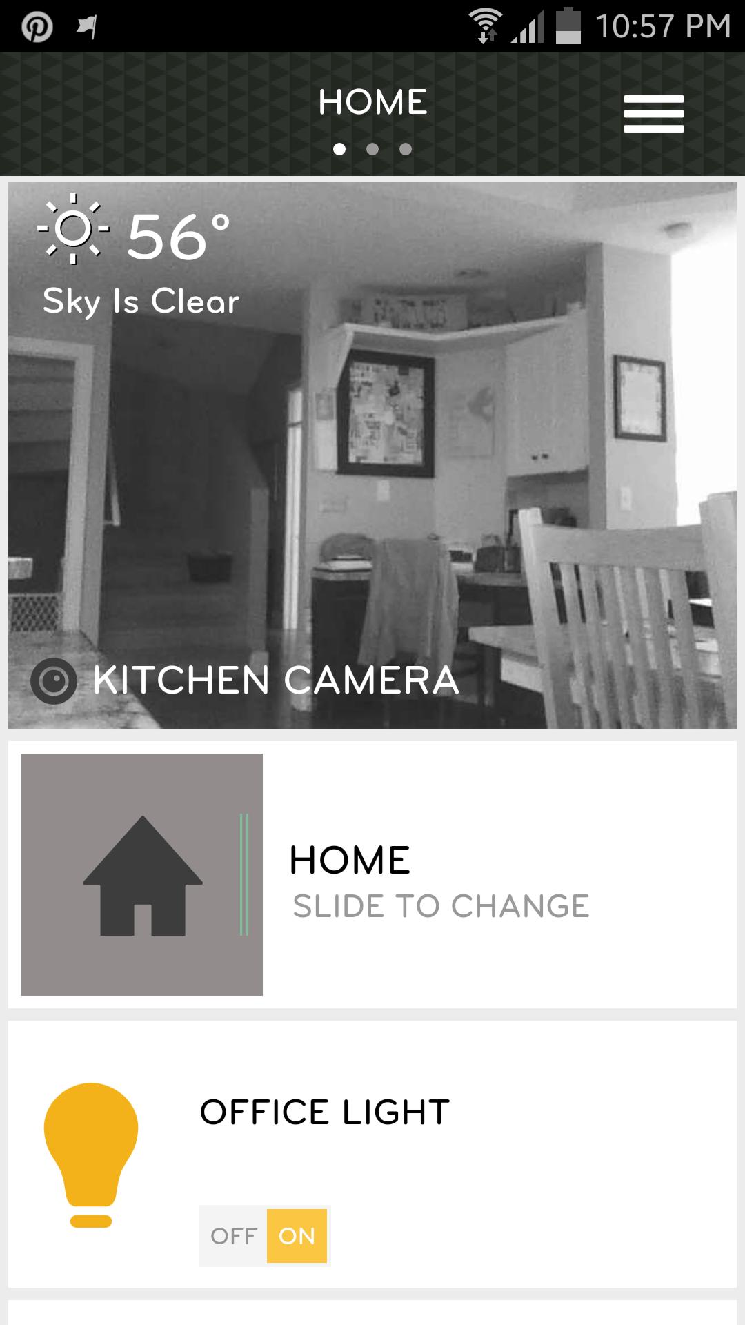 PEQ smartphone app screenshot