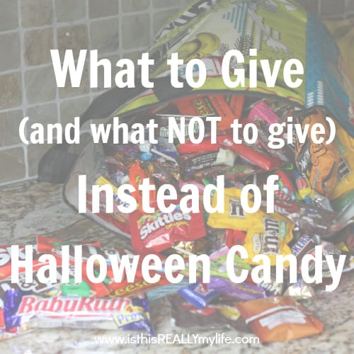 What to Give - and What NOT to Give - Instead of Halloween Candy