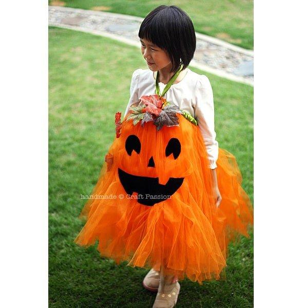 no sew pumpkin tutu