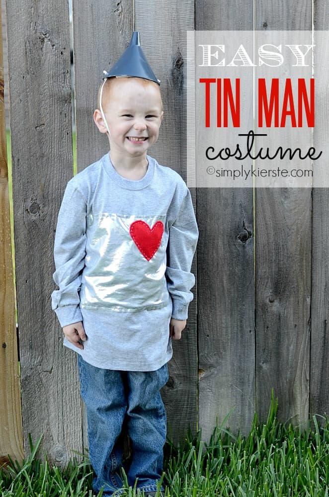 easy tin man costume