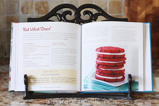 Red Velvet Lovers Cookbook from Deborah of Taste and Tell