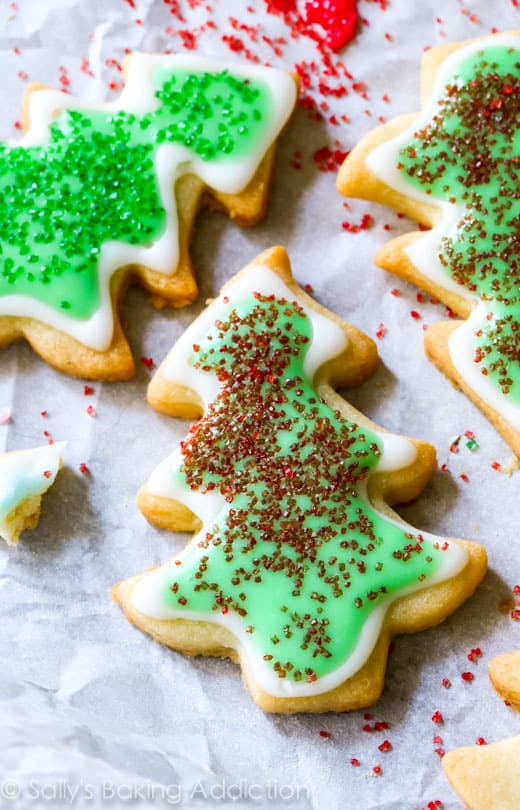 holiday cut out sugar cookies