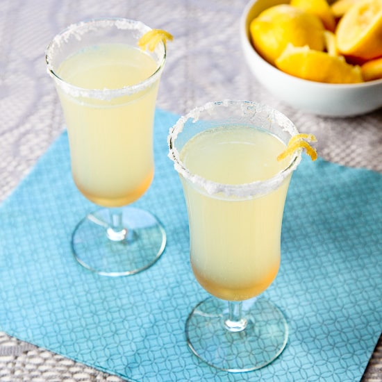 lemon ginger mocktail