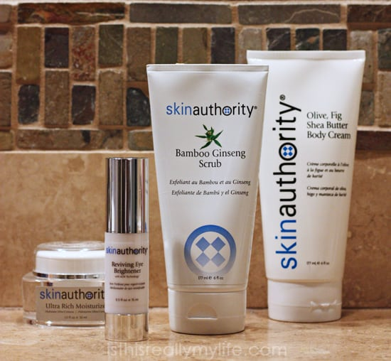 Skin Authority review - Body Drench Duo and Ultra Eye Duo