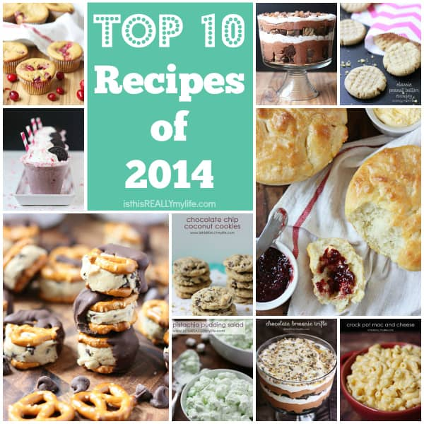 Top 10 Recipes of 2014 from halfscratched.com