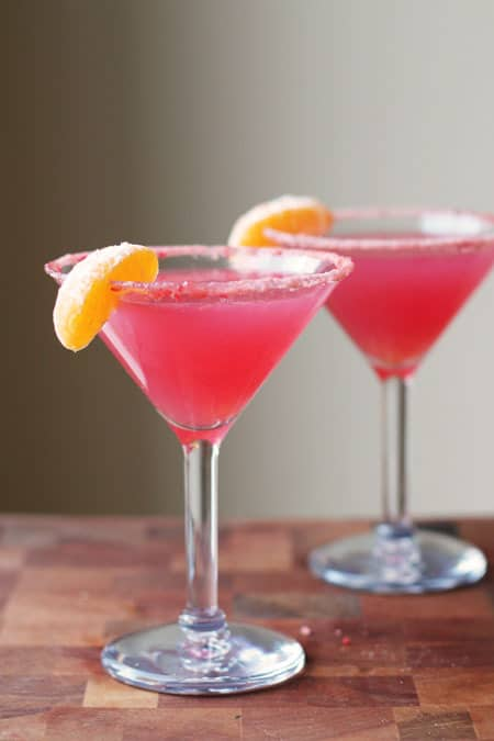 cranberry cute mocktail