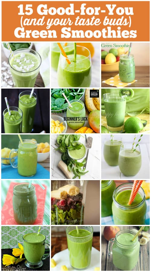 15 Good-for-You Green Smoothies