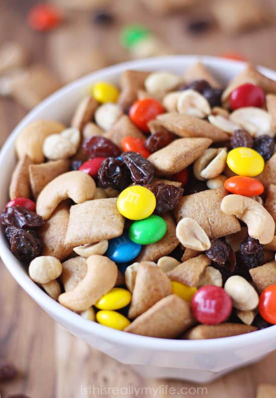 Honey Maid Go Bites Trail Mix Recipe - a healthy, wholesome, fun snack perfect for after school or on the go!