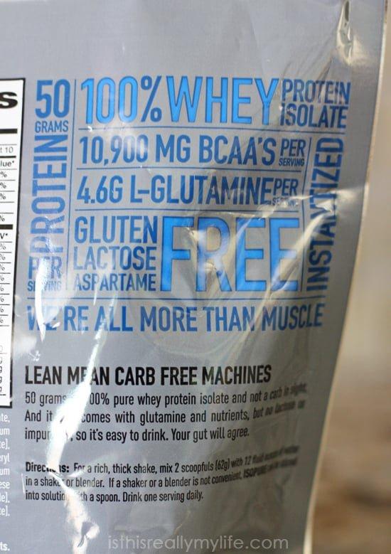 Isopure Zero Carb Whey Protein Isolate Creamy Vanilla