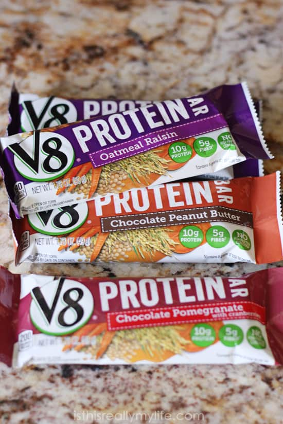 V8 Protein Bars review